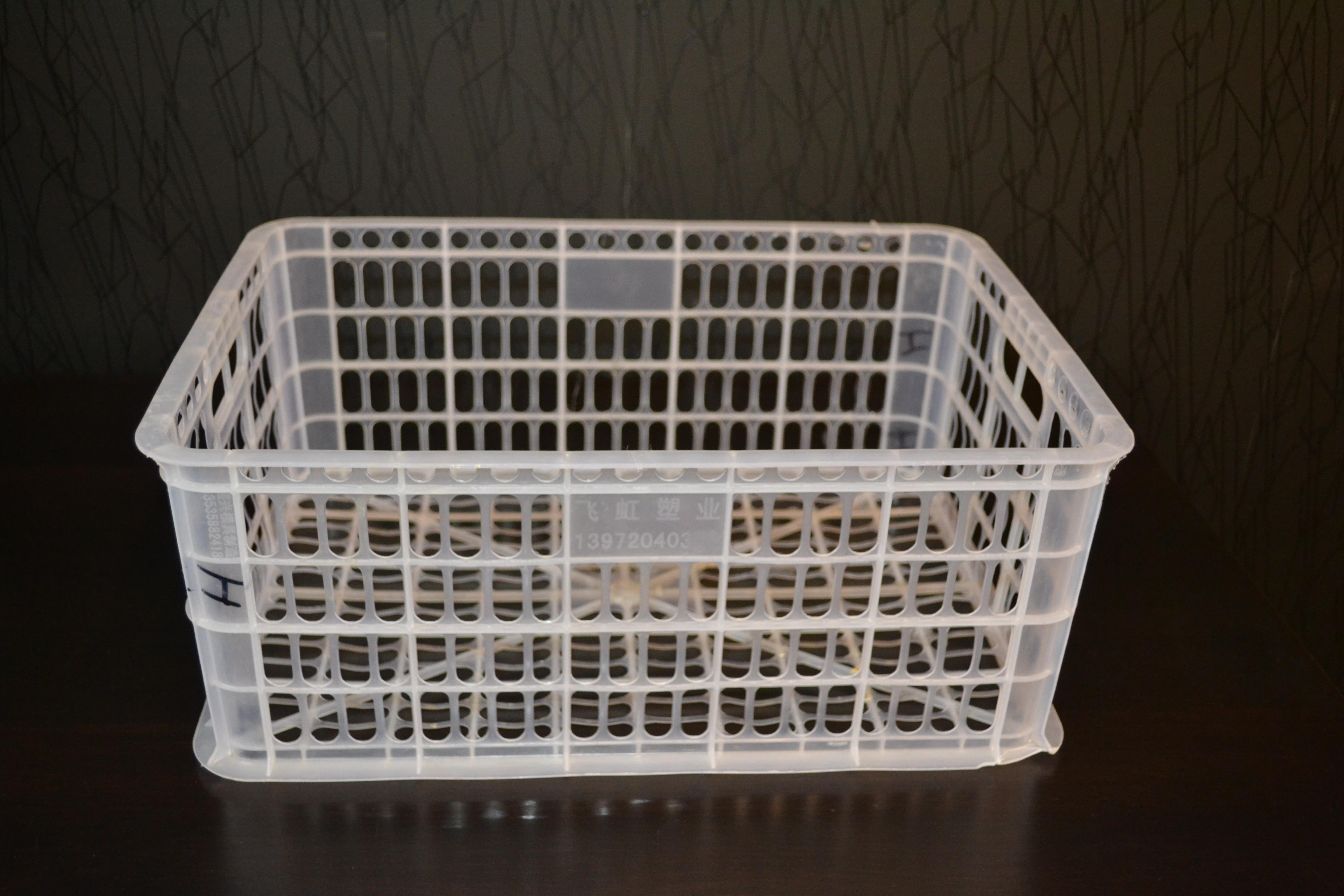 Ящик пластиковый б/у