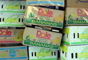 Коробка банановая